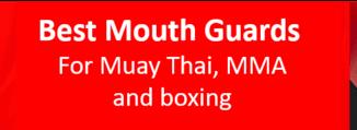 Best muay thai mouth guard