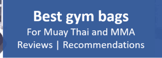 Best gym bags Muay Thai