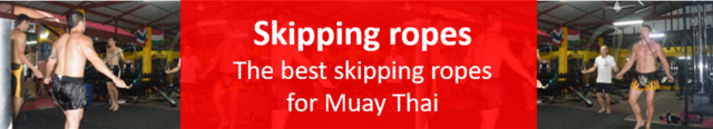 Best skipping rope for Muay Thai