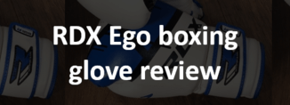 RDX Ego boxing glove review